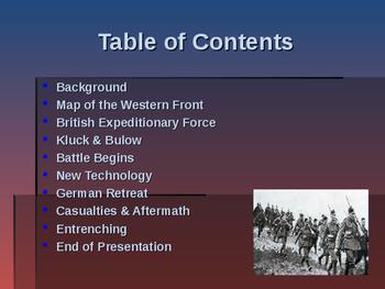 World War I - Key Battles - 1914 - First Battle of the Marne
