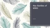 Key Battles of World War II
