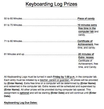 Key Boarding Log