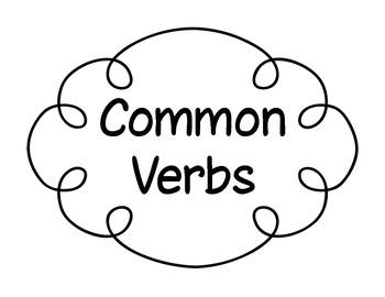 Key Common Core Vocab-Verbs