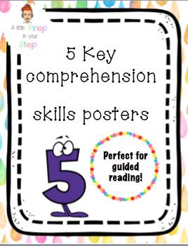 Key Comprehension Skills Posters