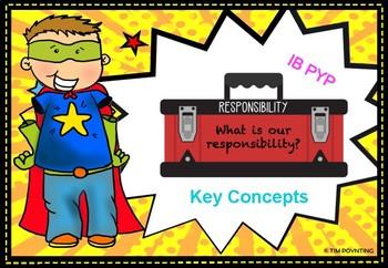 KEY CONCEPTS DISPLAY - IB PYP