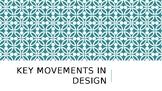 Key Design Movements PowerPoint