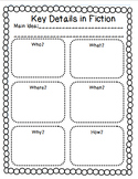 Key Details in Fiction Text Organizer