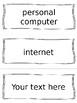 Key Developments 1975-2001 Vocabulary Cards - SS5H7