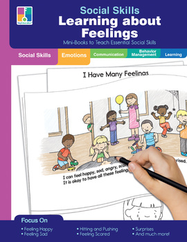 Key Education - Social Skills Mini-Books Learning about Feelings, 64 Pages