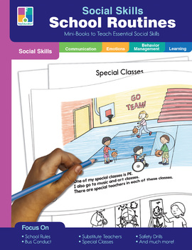 Key Education – Social Skills Mini-Books School Routines, 64 Pages