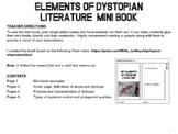 Key Elements of Dystopian Literature Mini Book