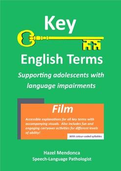 Key English Terms: Film Vocabulary