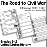 Key Events Leading to the Civil War Interactive Notes Pages