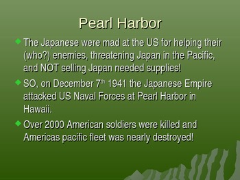World War Two Key Events: WWII , Pearl Harbor, D-Day, Hiroshima