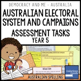 Australian Electoral System Assessment (Year 5 HASS)