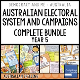 Australian Electoral System Key Features COMPLETE BUNDLE (Year 5 HASS)