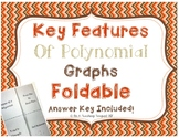 Key Features of Polynomial Function Graphs Foldable