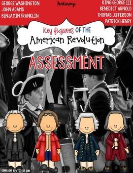 American Revolution Test: Important Figures of the Revolutionary War