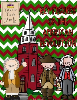 Key Figures of the American Revolution {Interactive Notebook Sort}