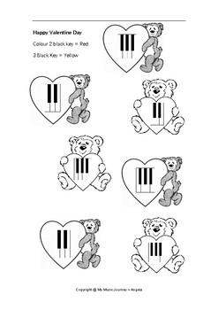 Key Group Wordsheet ~ Valentine theme