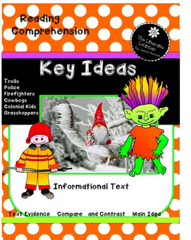 Key Ideas Informational Text 2nd and 3rd Grade