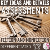 Key Ideas and Details Mix and Match Assessments