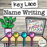 Key Lace Write My Name / Spell My Name Writing Centers / B