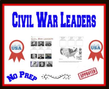 Key Leaders of Civil War Gallery Walk