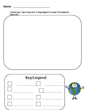 Key/Legend Worksheet