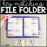 Key Matching File Folders ( 2 sets ) | File Folders for Sp