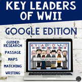 Key People of WWII for Google Classroom (SS5H4, SS5H4d)