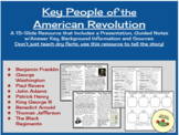 Key People of the American Revolution ~ Google Slide/ PPT Presentation