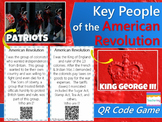 Key People of the American Revolution Task Cards {with QR Codes}