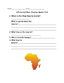 "Key Point Summary Reading questions for ""A Protected Place"