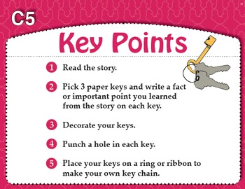 Key Points (Common Core RI 1.7, RI 3.2)