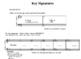 Key Signature Identification Worksheet