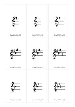 Key Signature Intermediate Music Theory Game - Signature Spiral