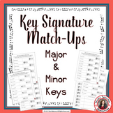 Key Signature Match Up | Major and Minor in Treble and Bass