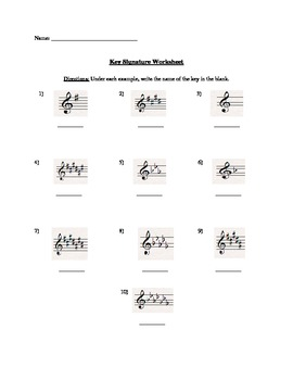 Key Signature Packet