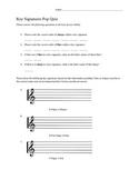 Key Signature Pop Quiz
