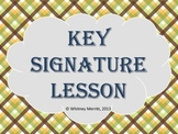 Key Signature Presentation Aid