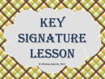 Key Signature Presentation Aid