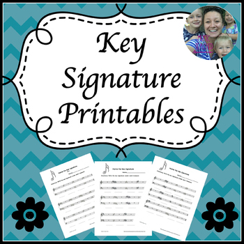 Key Signature Printables
