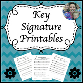 Key Signature Printables