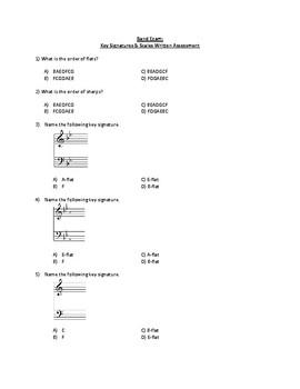 Key Signature Quiz #2