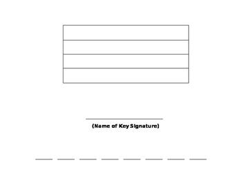 Key Signature & Scale Worksheet
