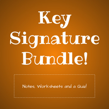 Key Signature Unit Bundle!