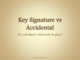 Key Signature vs Accidentals: Do you know what note to play?