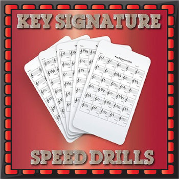 Key Signatures Drills - Alto Clef