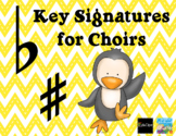 Key Signatures for choirs