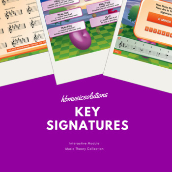 Key Signatures - Interactive Music Theory Activity.