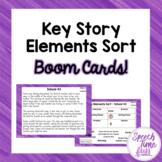 Key Story Elements Sort BOOM CARDS™️