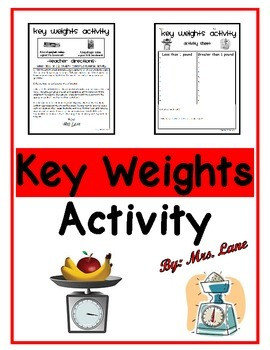 Key Weights Activity